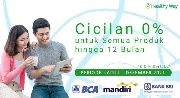 Promo Cicilan 0% Healthy Way