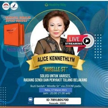 Alice Kennethlyn - Mirelle 17 Maret 2021