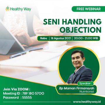 Seni Handling Objection-04