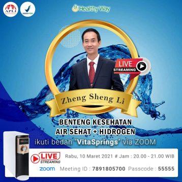 Zheng Sheng Li - Benteng Kesehatan 10 Maret 2021